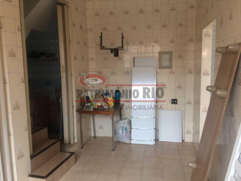 13 - Casa Vila Kosmos duplex, com área gourmet. - PACA20488 - 16