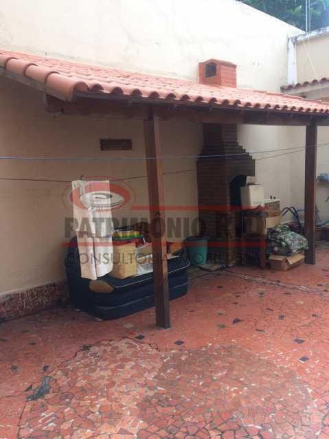 16 - Casa Vila Kosmos duplex, com área gourmet. - PACA20488 - 3