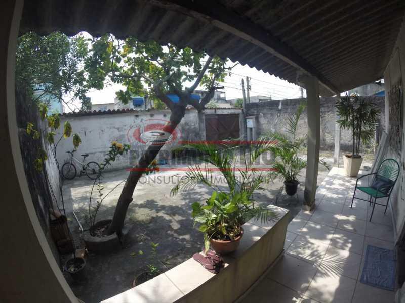 3 - Varanda frontal. - Casa linear de 2qtos - juntinho do Shopping Guadalupe. - PACA20493 - 4