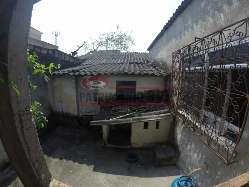 11 - area dos fundos 1. - Casa linear de 2qtos - juntinho do Shopping Guadalupe. - PACA20493 - 16