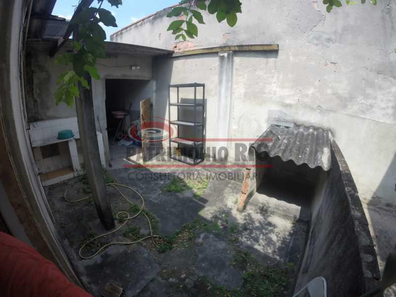 11 - area dos fundos 2. - Casa linear de 2qtos - juntinho do Shopping Guadalupe. - PACA20493 - 17