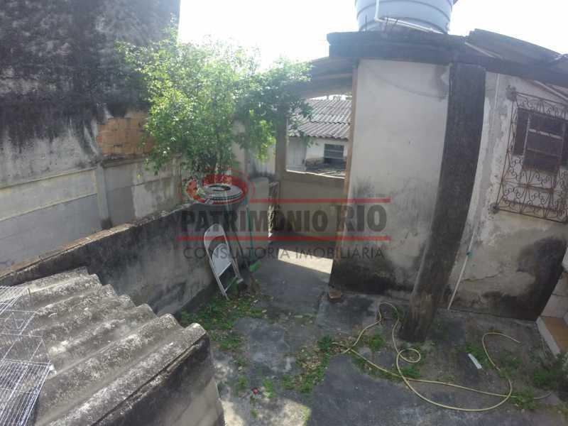 11 - area dos fundos 3. - Casa linear de 2qtos - juntinho do Shopping Guadalupe. - PACA20493 - 18
