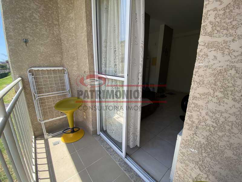IMG-3814 - Apartamento - 2 quartos - varanda - piscina - PAAP23300 - 10