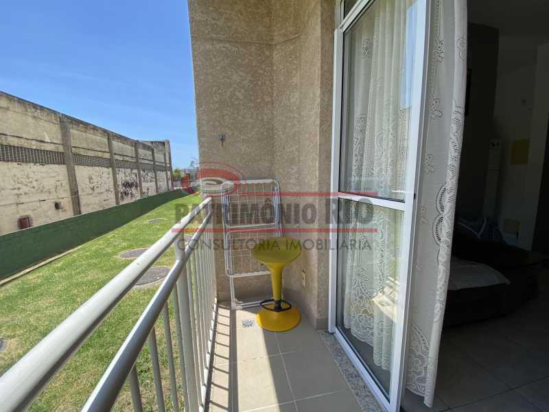 IMG-3815 - Apartamento - 2 quartos - varanda - piscina - PAAP23300 - 12