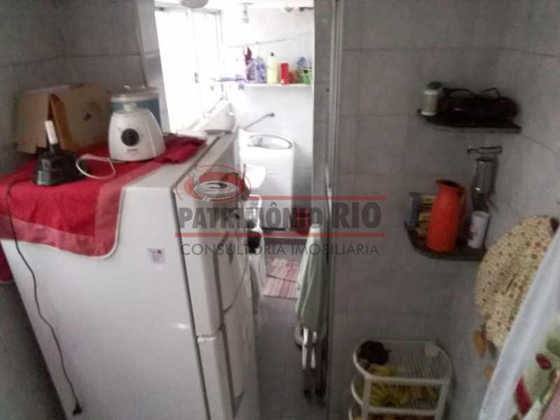 4 - Cozinha e área 1. - 2 quartos com vaga juntinho Metrô - PAAP23344 - 21