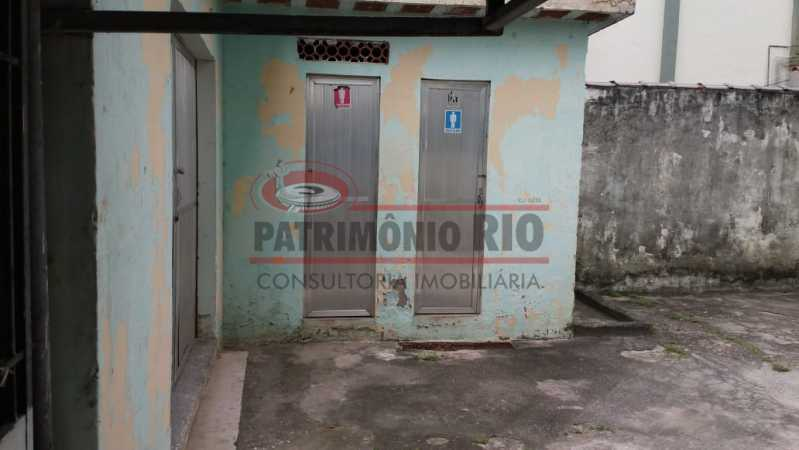 6 - Banheiros do salão de fes - 2 quartos com vaga juntinho Metrô - PAAP23344 - 24