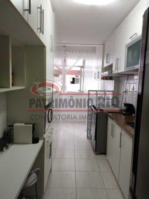 5 - Amplo apto - 2 qtos - suíte - prédio com elevador - 1 vaga - financiando. - PAAP23361 - 16