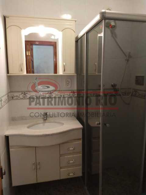 6 - Amplo apto - 2 qtos - suíte - prédio com elevador - 1 vaga - financiando. - PAAP23361 - 9