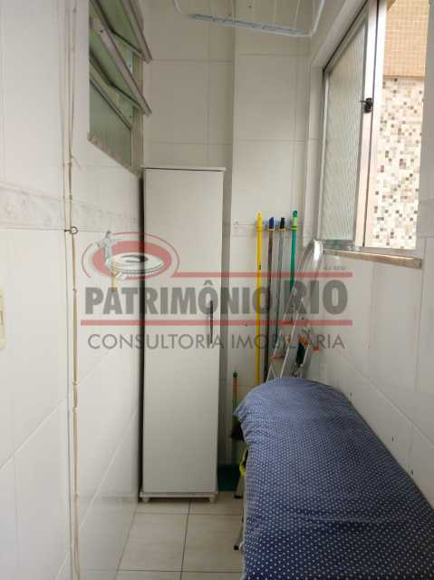 9 - Amplo apto - 2 qtos - suíte - prédio com elevador - 1 vaga - financiando. - PAAP23361 - 19