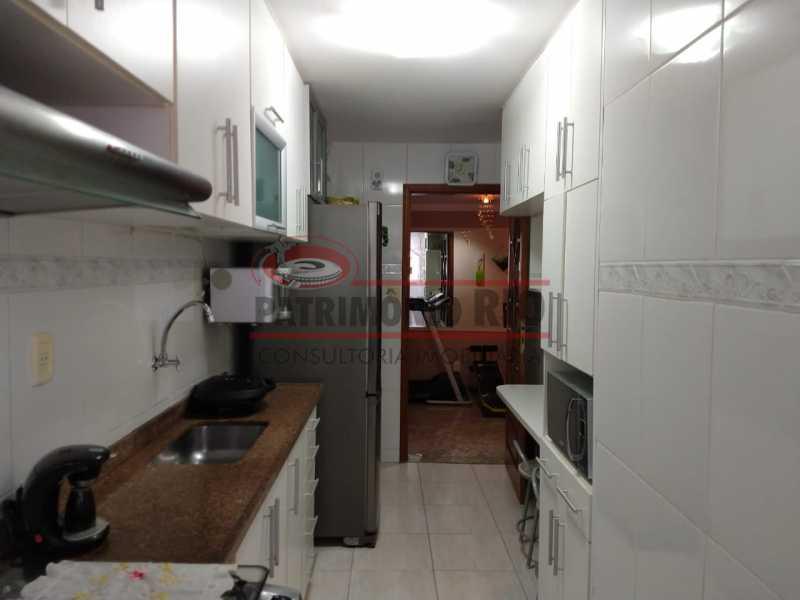 29 - Amplo apto - 2 qtos - suíte - prédio com elevador - 1 vaga - financiando. - PAAP23361 - 27