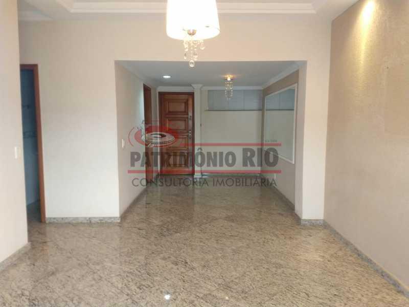 4 - Amplo apto - 2 qtos - suíte - prédio com elevador - 1 vaga - financiando. - PAAP23361 - 1