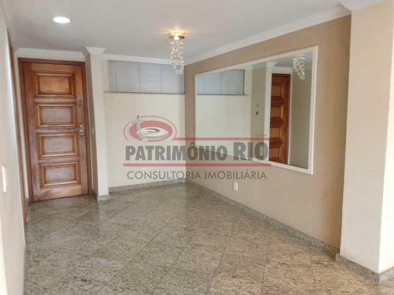 5 - Amplo apto - 2 qtos - suíte - prédio com elevador - 1 vaga - financiando. - PAAP23361 - 3