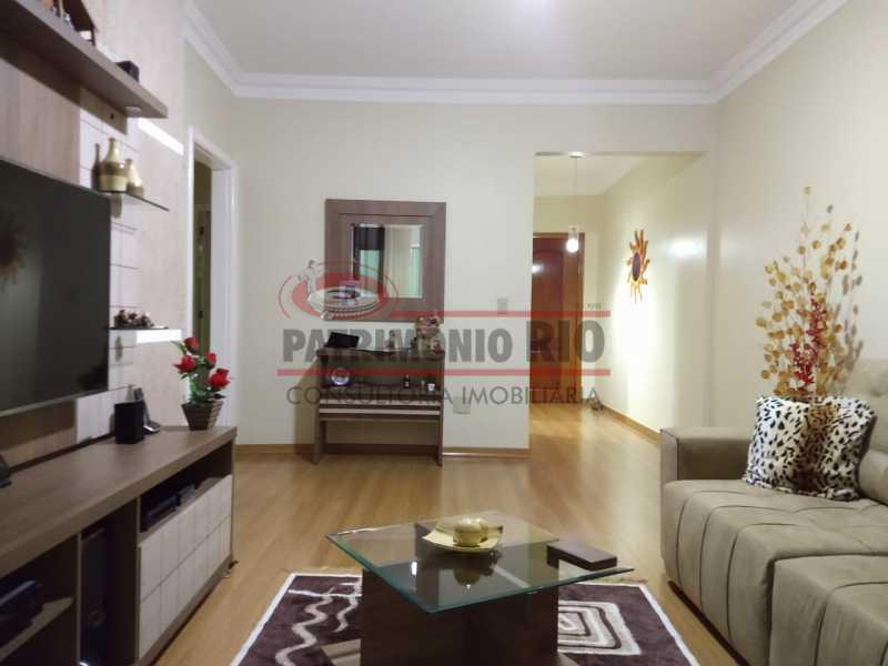 9 - Apartamento, Penha Circular, 2 quartos + dependência completa, varanda, 1 vaga e financiando - PAAP23387 - 1