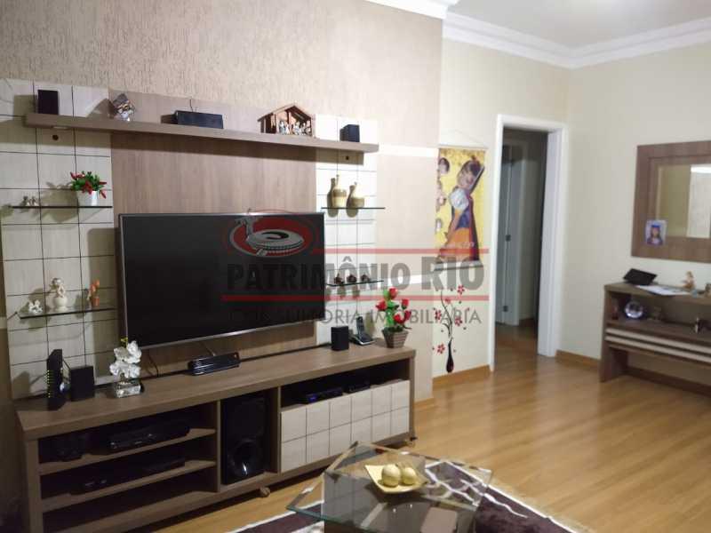 17 - Apartamento, Penha Circular, 2 quartos + dependência completa, varanda, 1 vaga e financiando - PAAP23387 - 5