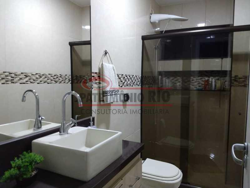 19 - Apartamento, Penha Circular, 2 quartos + dependência completa, varanda, 1 vaga e financiando - PAAP23387 - 11