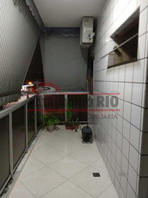 20 - Apartamento, Penha Circular, 2 quartos + dependência completa, varanda, 1 vaga e financiando - PAAP23387 - 25