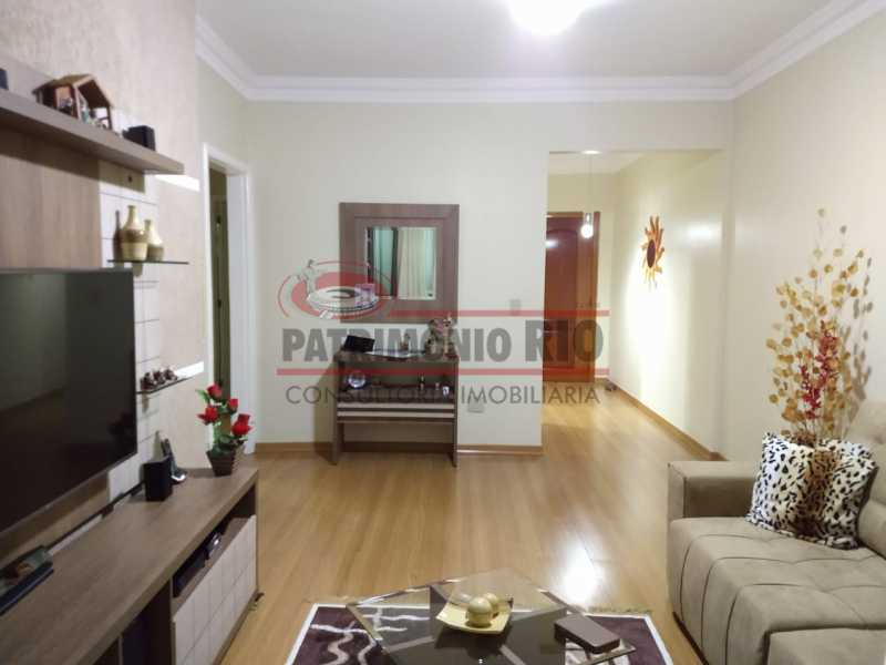 26 - Apartamento, Penha Circular, 2 quartos + dependência completa, varanda, 1 vaga e financiando - PAAP23387 - 3
