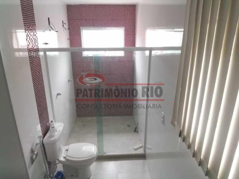 12.2 - banheiro suíte master  - Casa Cinematográfica na Praça Seca - PACN50006 - 23