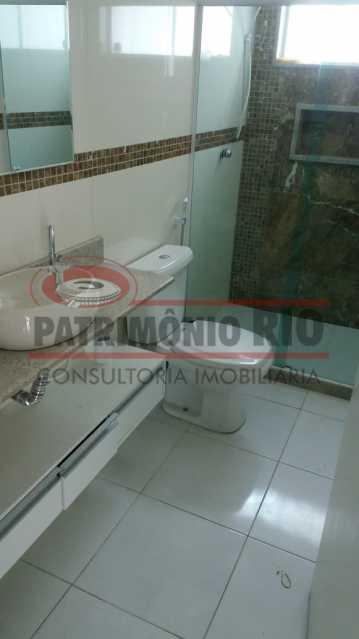 15 - banheiro social. - Casa Cinematográfica na Praça Seca - PACN50006 - 29