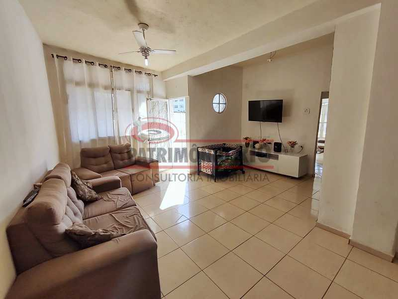 3 - Excelente Casa linear 03 Quartos,02 vagas,Quintal - Próximo a Avenida Brás de Pina. - PACA30454 - 4