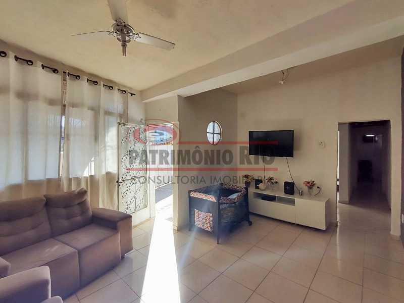 4 2 - Excelente Casa linear 03 Quartos,02 vagas,Quintal - Próximo a Avenida Brás de Pina. - PACA30454 - 5