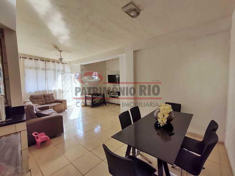 5 2 - Excelente Casa linear 03 Quartos,02 vagas,Quintal - Próximo a Avenida Brás de Pina. - PACA30454 - 6