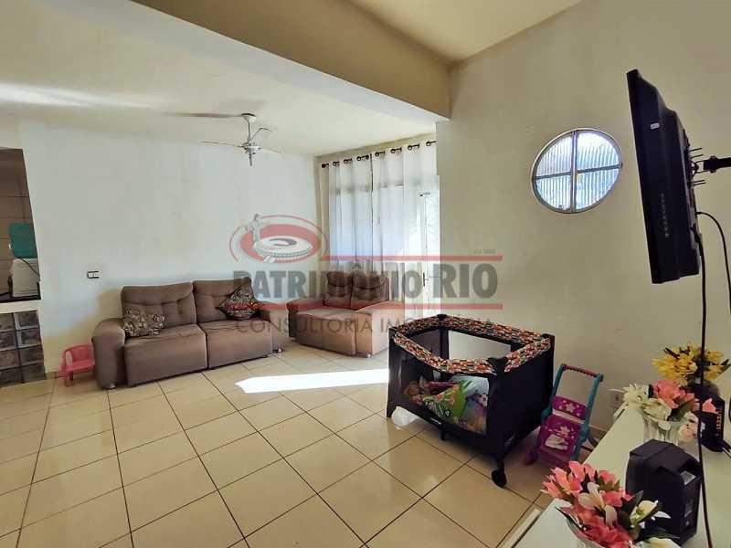 7 3 - Excelente Casa linear 03 Quartos,02 vagas,Quintal - Próximo a Avenida Brás de Pina. - PACA30454 - 8