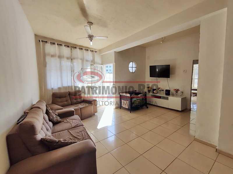 8 2 - Excelente Casa linear 03 Quartos,02 vagas,Quintal - Próximo a Avenida Brás de Pina. - PACA30454 - 9
