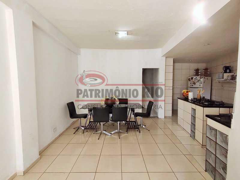 10 - Excelente Casa linear 03 Quartos,02 vagas,Quintal - Próximo a Avenida Brás de Pina. - PACA30454 - 11