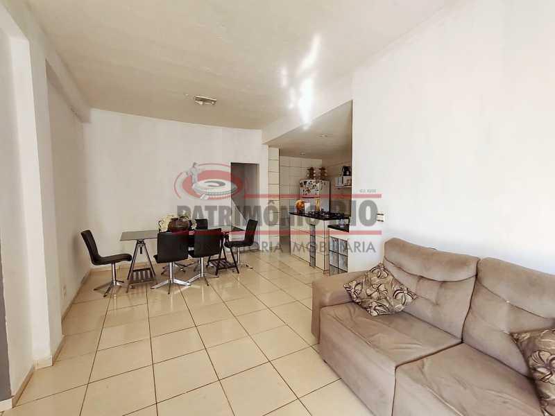 12 - Excelente Casa linear 03 Quartos,02 vagas,Quintal - Próximo a Avenida Brás de Pina. - PACA30454 - 13
