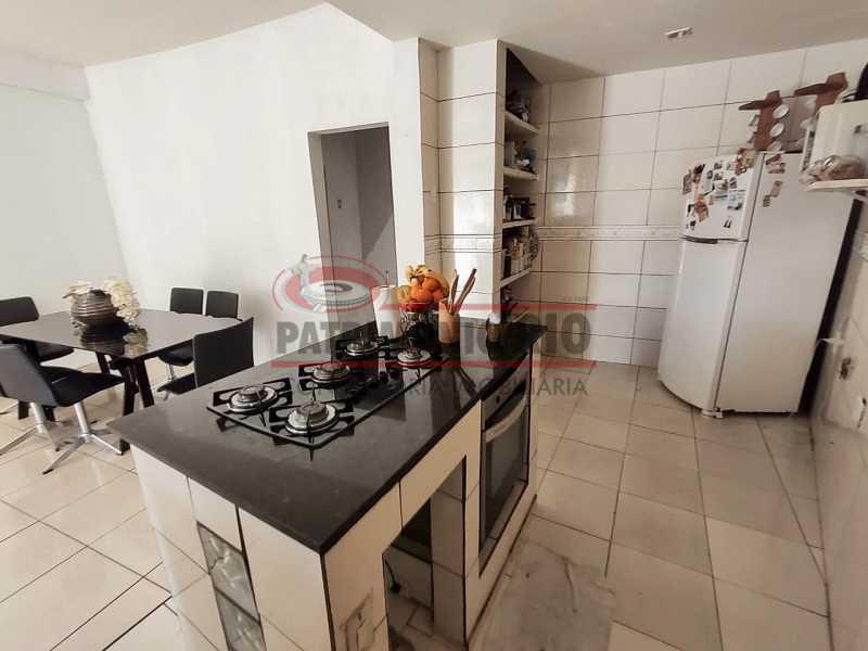 16 - Excelente Casa linear 03 Quartos,02 vagas,Quintal - Próximo a Avenida Brás de Pina. - PACA30454 - 16