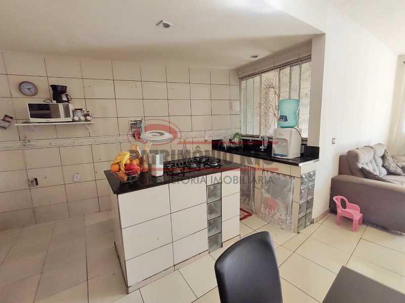 17 - Excelente Casa linear 03 Quartos,02 vagas,Quintal - Próximo a Avenida Brás de Pina. - PACA30454 - 17