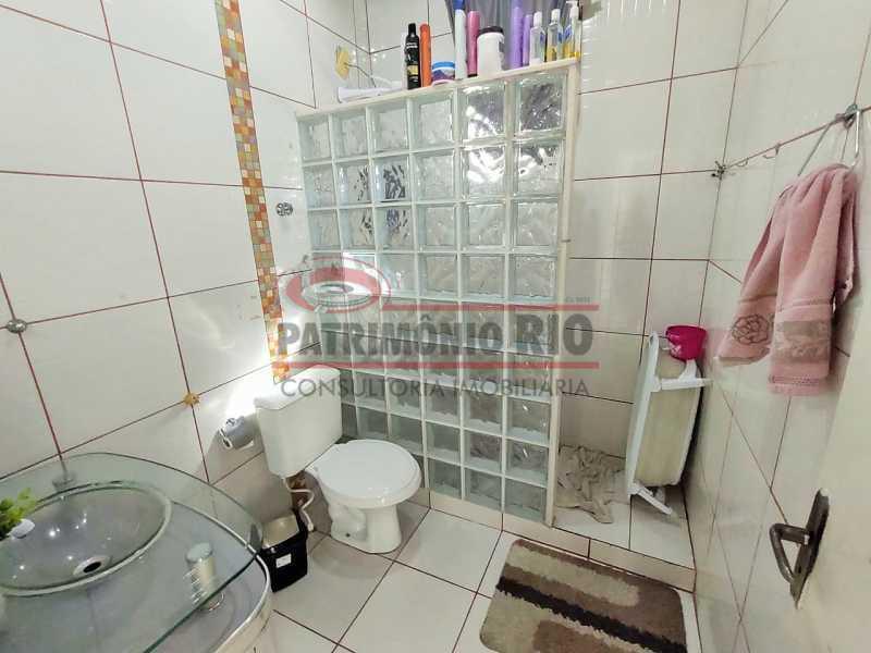 19 - Excelente Casa linear 03 Quartos,02 vagas,Quintal - Próximo a Avenida Brás de Pina. - PACA30454 - 19