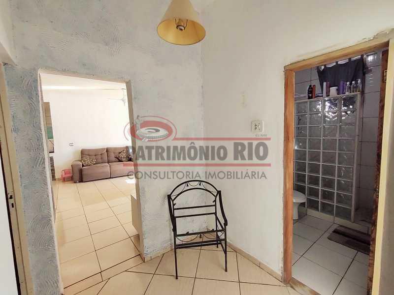 21 - Excelente Casa linear 03 Quartos,02 vagas,Quintal - Próximo a Avenida Brás de Pina. - PACA30454 - 21
