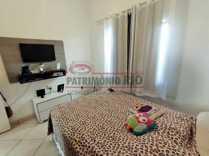 22 - Excelente Casa linear 03 Quartos,02 vagas,Quintal - Próximo a Avenida Brás de Pina. - PACA30454 - 22