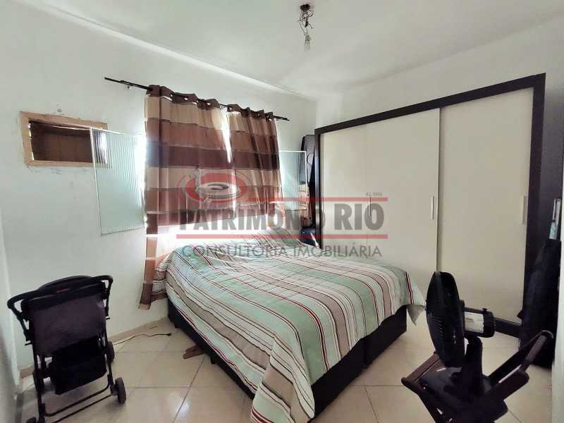24 - Excelente Casa linear 03 Quartos,02 vagas,Quintal - Próximo a Avenida Brás de Pina. - PACA30454 - 24