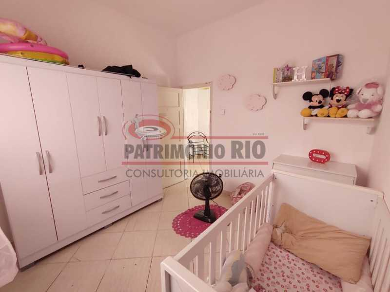 27 - Excelente Casa linear 03 Quartos,02 vagas,Quintal - Próximo a Avenida Brás de Pina. - PACA30454 - 27