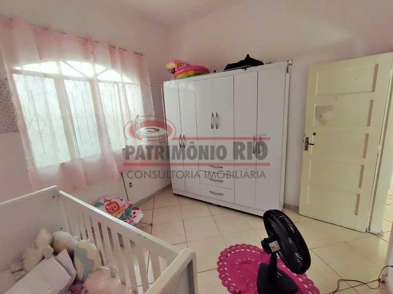 28 - Excelente Casa linear 03 Quartos,02 vagas,Quintal - Próximo a Avenida Brás de Pina. - PACA30454 - 28