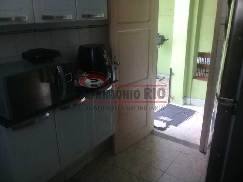 14 - Boa Casa na Penha, frente de Rua, com 2quartos e pequeno quintal na frente e nos fundos - PACA20508 - 16
