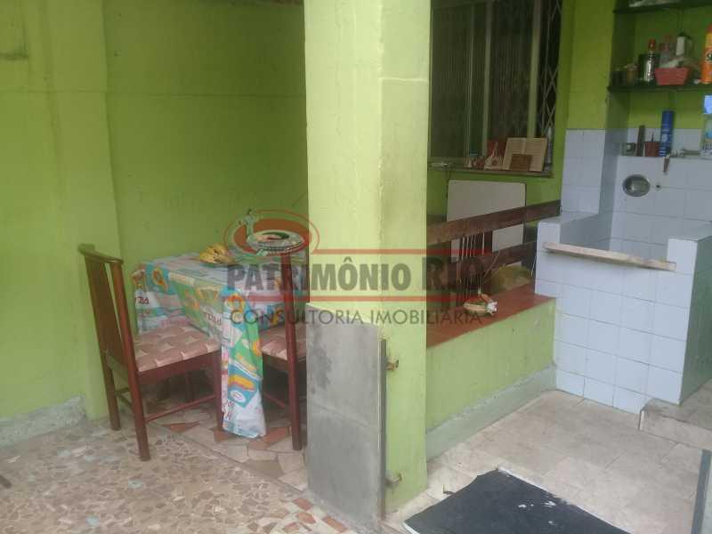 20 - Boa Casa na Penha, frente de Rua, com 2quartos e pequeno quintal na frente e nos fundos - PACA20508 - 21