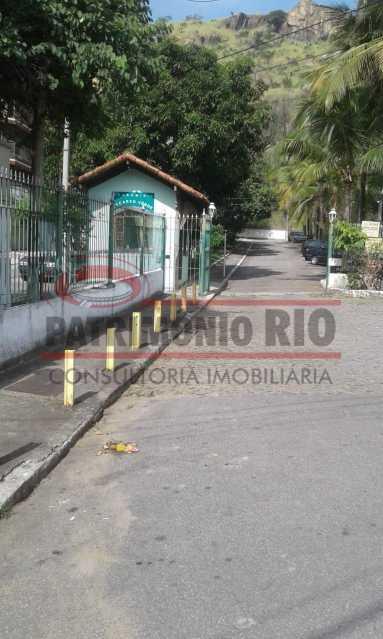 02índice - Excelente casa duplex, 2qtos, vaga de garagem - Condomínio Fechado - Vila Kosmos. - PACN20098 - 1