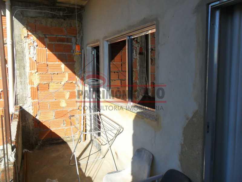 06índice - Excelente casa duplex, 2qtos, vaga de garagem - Condomínio Fechado - Vila Kosmos. - PACN20098 - 19
