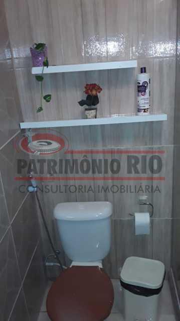 IMG-20200924-WA0051 - Excelente casa duplex, 2qtos, vaga de garagem - Condomínio Fechado - Vila Kosmos. - PACN20098 - 21