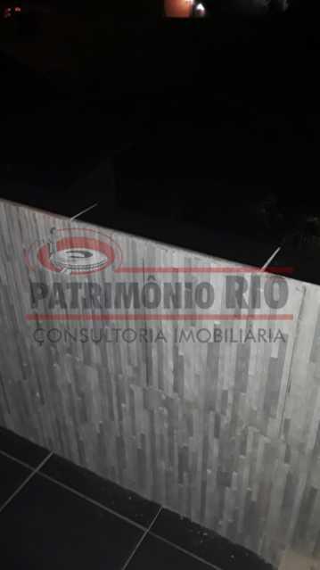 IMG-20200924-WA0053 - Excelente casa duplex, 2qtos, vaga de garagem - Condomínio Fechado - Vila Kosmos. - PACN20098 - 22