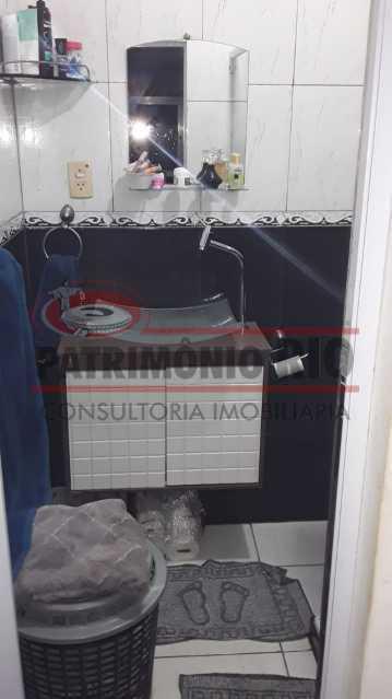 IMG-20200924-WA0059 - Excelente casa duplex, 2qtos, vaga de garagem - Condomínio Fechado - Vila Kosmos. - PACN20098 - 26