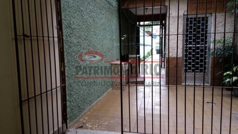 1 - Varanda na frente 1. - Apartamento tipo casa de 2qtos - PAAP23439 - 1