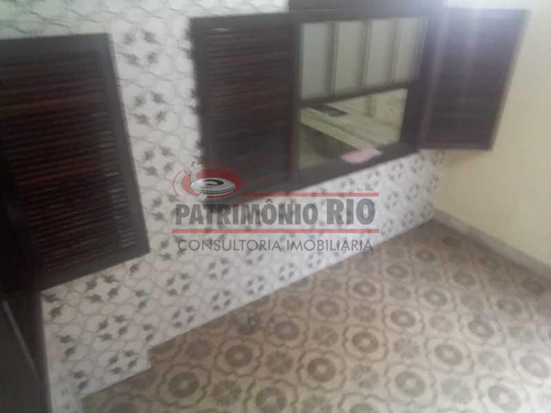 1 - Varanda na frente 3. - Apartamento tipo casa de 2qtos - PAAP23439 - 4