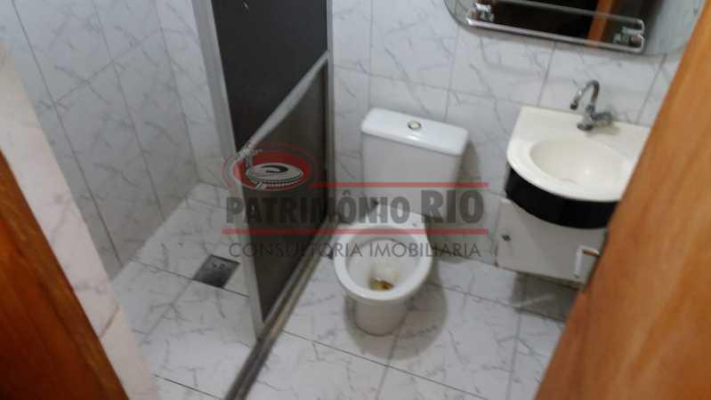 6 - Banheiro social. - Apartamento tipo casa de 2qtos - PAAP23439 - 25