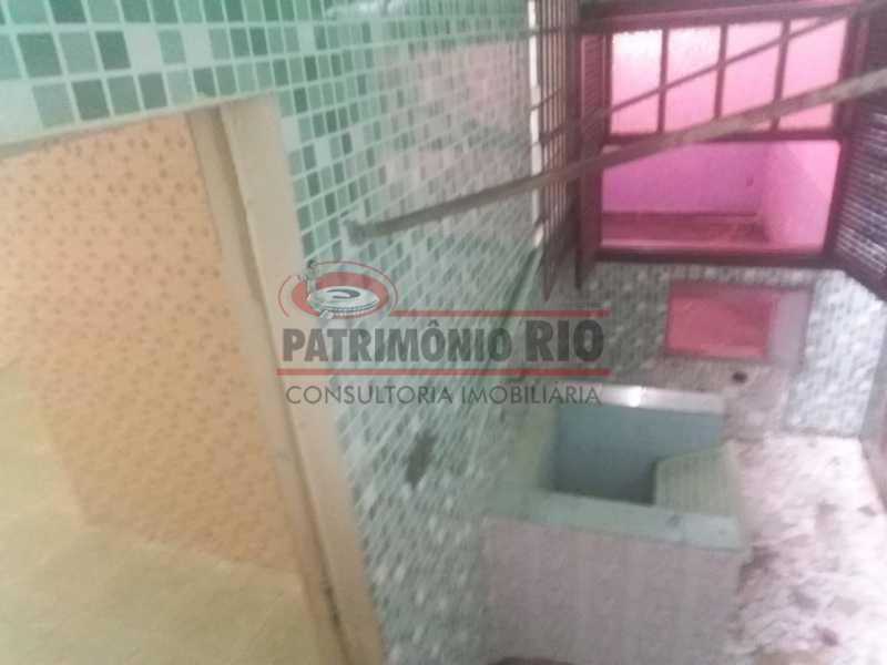 7 - Area de serviço 1. - Apartamento tipo casa de 2qtos - PAAP23439 - 26
