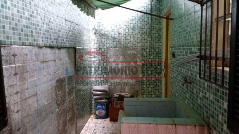 7 - Area de serviço 2. - Apartamento tipo casa de 2qtos - PAAP23439 - 27